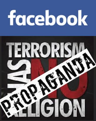 Propaganda on Facebook Terrorism