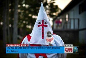 CNN Racist Liberals Link Blacks to Felons