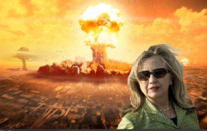 Hillary Clinton Nukes Nuclear War