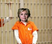 Hillary in Orange Jumpsuit