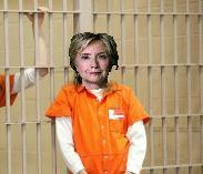 Hillary in Orange Jumpsuit
