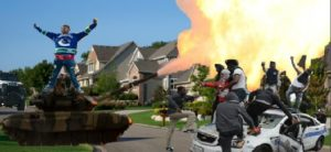 Suburban Area Riots Martial Law