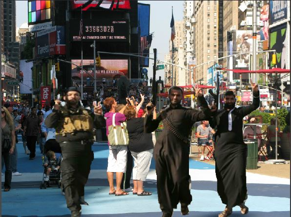 Liberals won't get it until ISIS is in Times Square