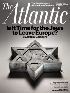Cover of the April 2015 issue of The Atlantic magazine (Courtesy of The Atlantic)