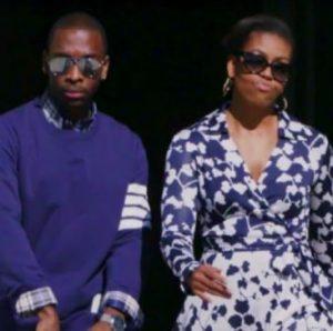 michelle-obama-with-rapper
