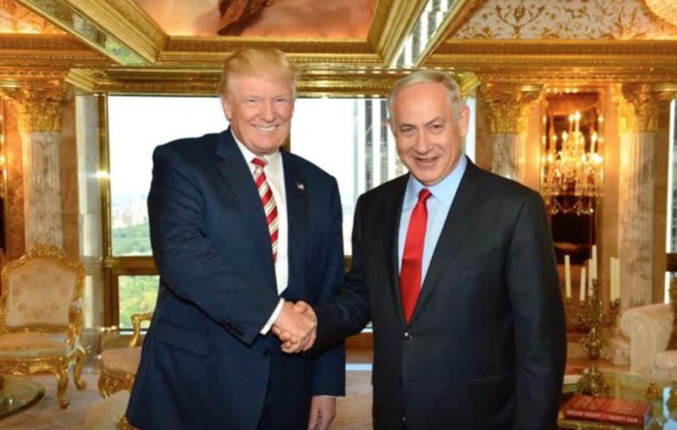 trump-netanyahu-shake-hands