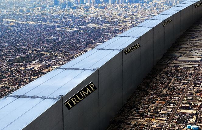Trump Proposed Wall with Mexico