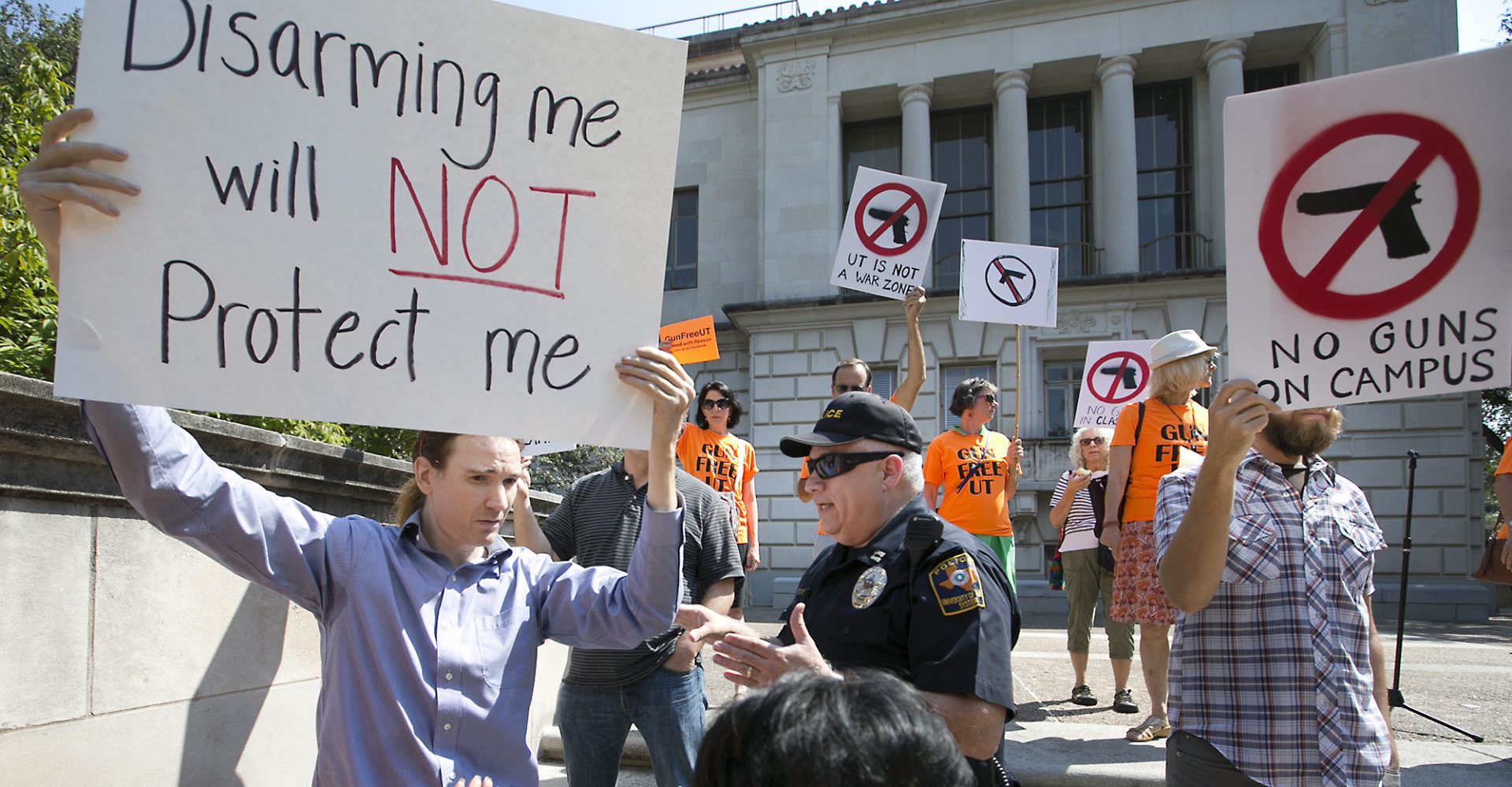 guns on campus 2 The federal school safety panel, created after the marjory stoneman douglas shooting, will not look into best practices of foreign nations with significantly lower rates of gun violence.