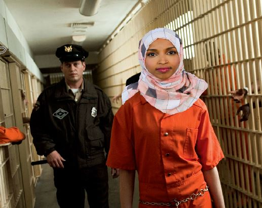 Image result for Ilhan Omar Facing Up To 40 Years In Prison & Deportation If Steinberg's Allegations Against Her Of 7 Counts Of Perjury Are True & Prosecuted